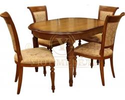 Обеденный стол из массива Милано 9