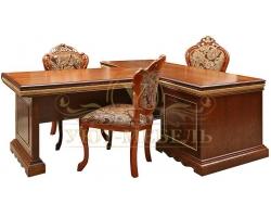 Письменный стол из массива Милано 1