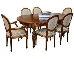 Обеденный стол из массива Валенсия 2