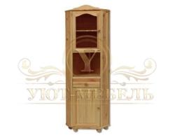 Шкаф угловой из массива сосны Витязь 99