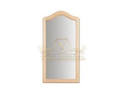 Зеркало из дерева Лира