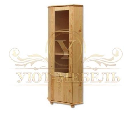 Шкаф угловой из массива Витязь 98