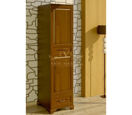 Шкаф из массива 1 створчатый Соната
