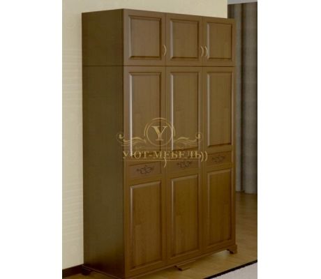 Шкаф из массива 3 створчатый Муза