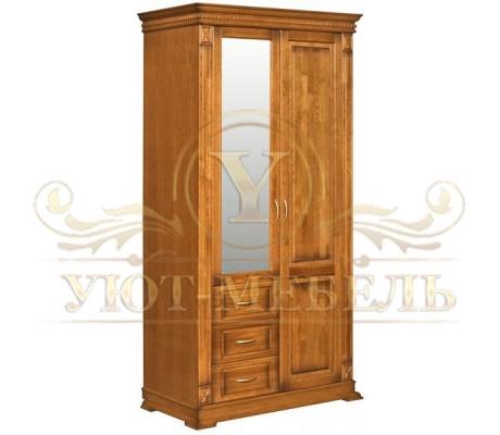 Шкаф из массива 2 створчатый Верди 1108