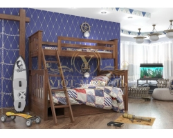 Детская кровать из массива дерева Пират