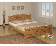 Деревянная односпальная кровать Афродита