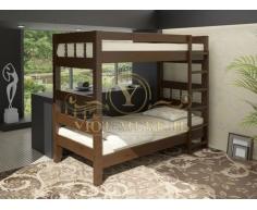 Двухъярусная кровать из массива Эра