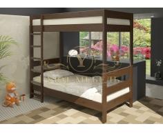 Двухъярусная кровать из массива Икея