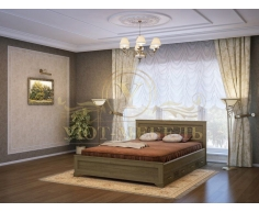 Деревянная односпальная кровать Классика тахта