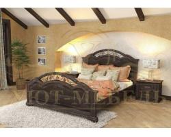 Купить деревянную кровать Лаура