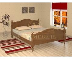 Деревянная односпальная кровать Мелодия