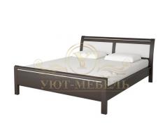 Деревянная односпальная кровать Стиль 6А