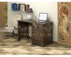 Письменный стол из массива Фараон 3 ящика