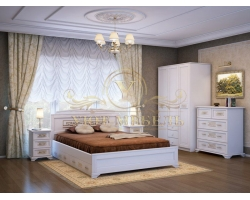Спальный гарнитур из массива Афина