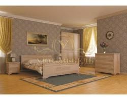 Спальный гарнитур из массива Классика