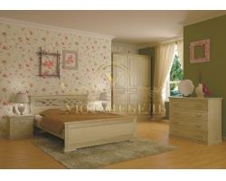 Спальный гарнитур из массива Лира 2