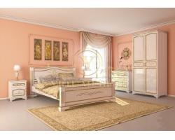Спальный гарнитур из массива Соната