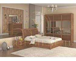 Спальный гарнитур из массива Стиль