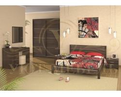 Спальный гарнитур из массива Стиль 5