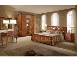 Спальный гарнитур из массива Алези 1