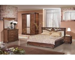 Спальный гарнитур из массива Алези 3